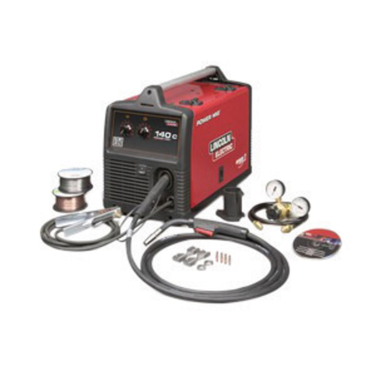 Airgas - LINK2471-2 - Lincoln Electric® Power MIG® 140C MIG Welder ...