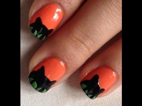 Halloween nails cat desing do it yourself disenos de unas gatito halloween nails cat desing do it yourself disenos de unas gatito halloween solutioingenieria Choice Image