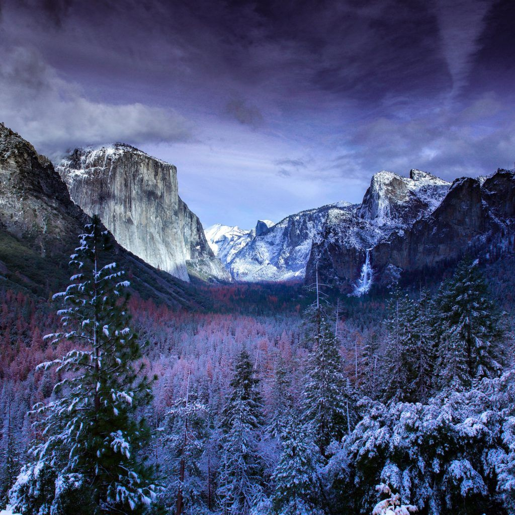 Collection of winter wallpapers for your iPad, iPhone and
