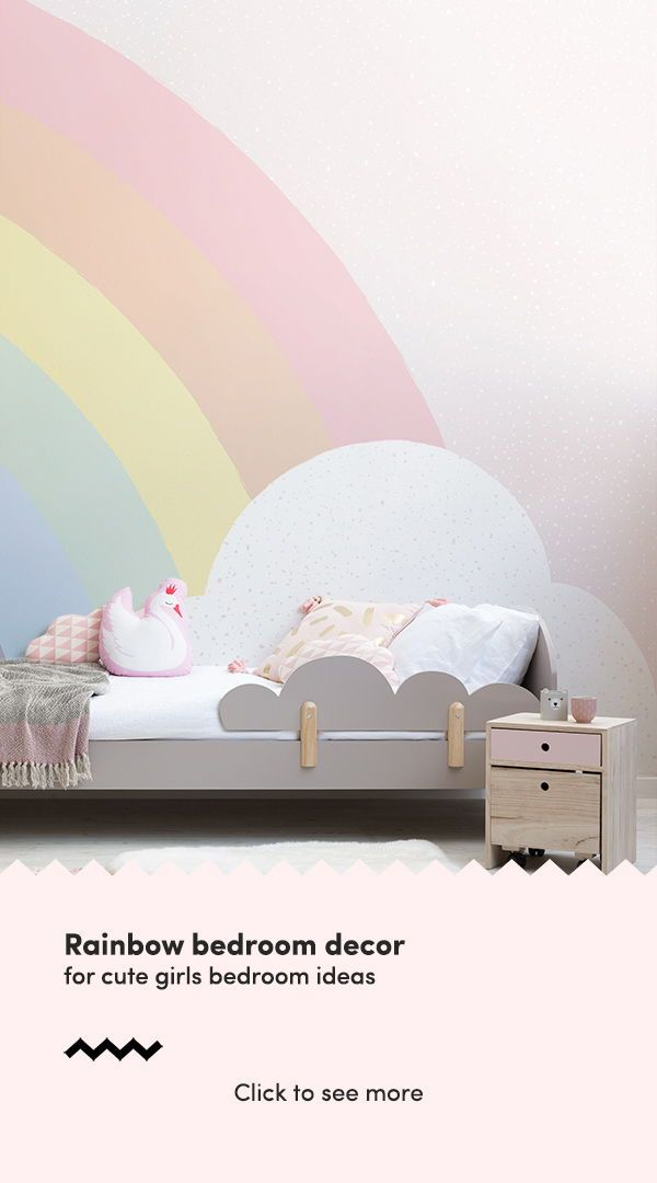 Kids Pastel Rainbow Wallpaper Mural images