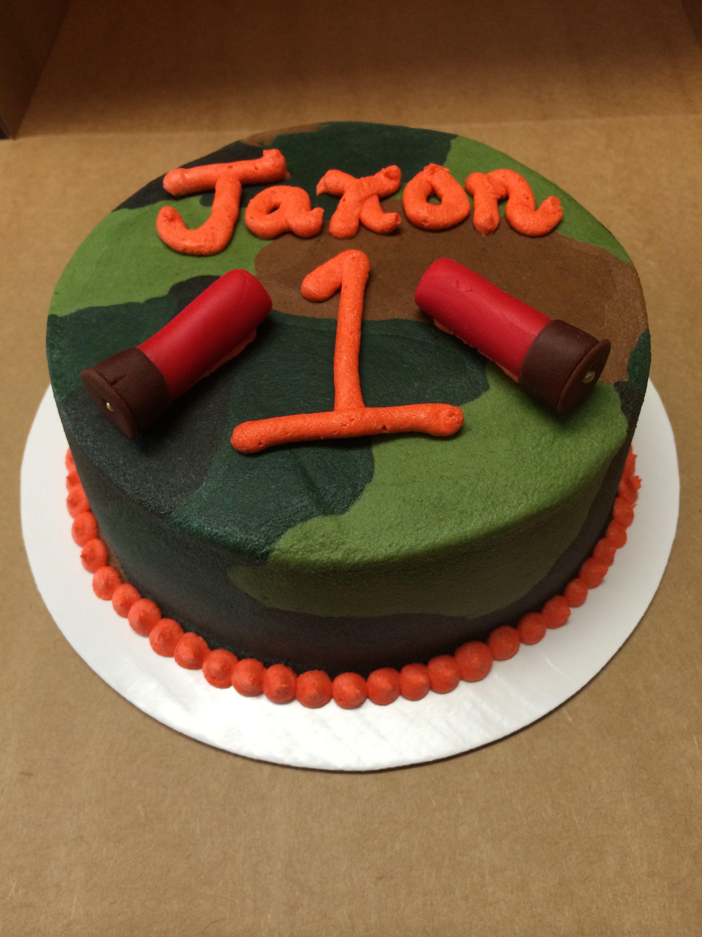 One Year Old Camo Smash Cake Cakes I Have Made Pinterest Smash