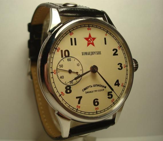 Men's Vintage Watch | Molnija original Watch | Soviet Watch | Molnia Watch | Commander watch | Vintage Watch | Watch Gift | Gift for Men |