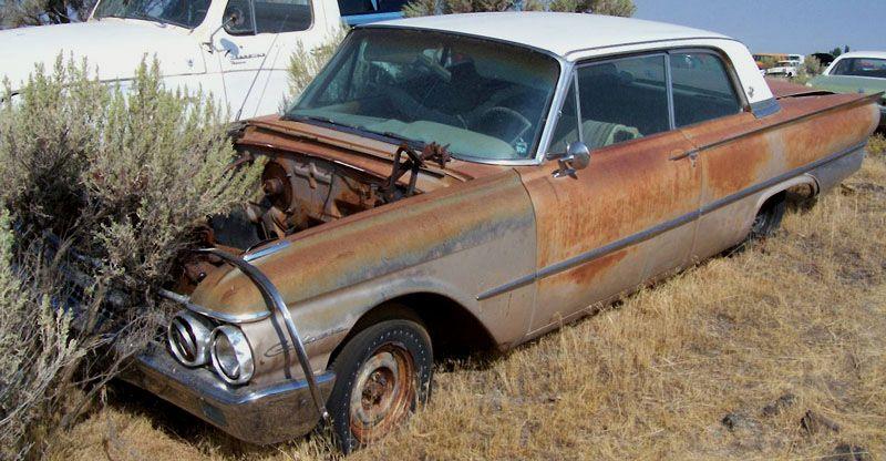 1961 Ford Galaxie Club Victoria 2 Door Hardtop For Sale