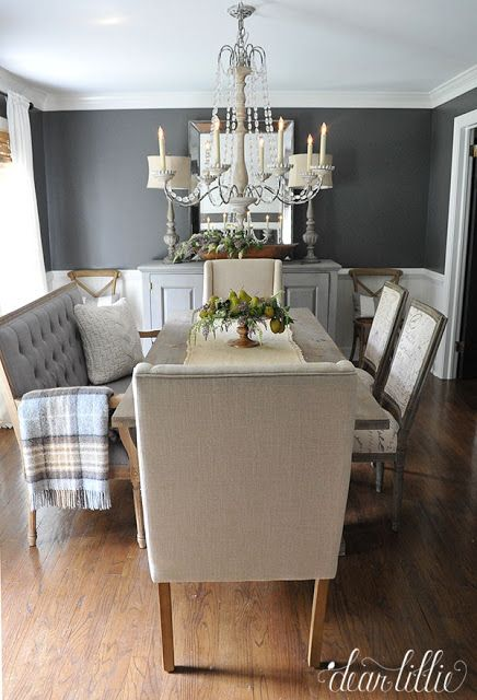 Kendall Charcoalbenjamin Moore In Matte Finish  Dear Lillie Impressive Kendall Dining Room Review