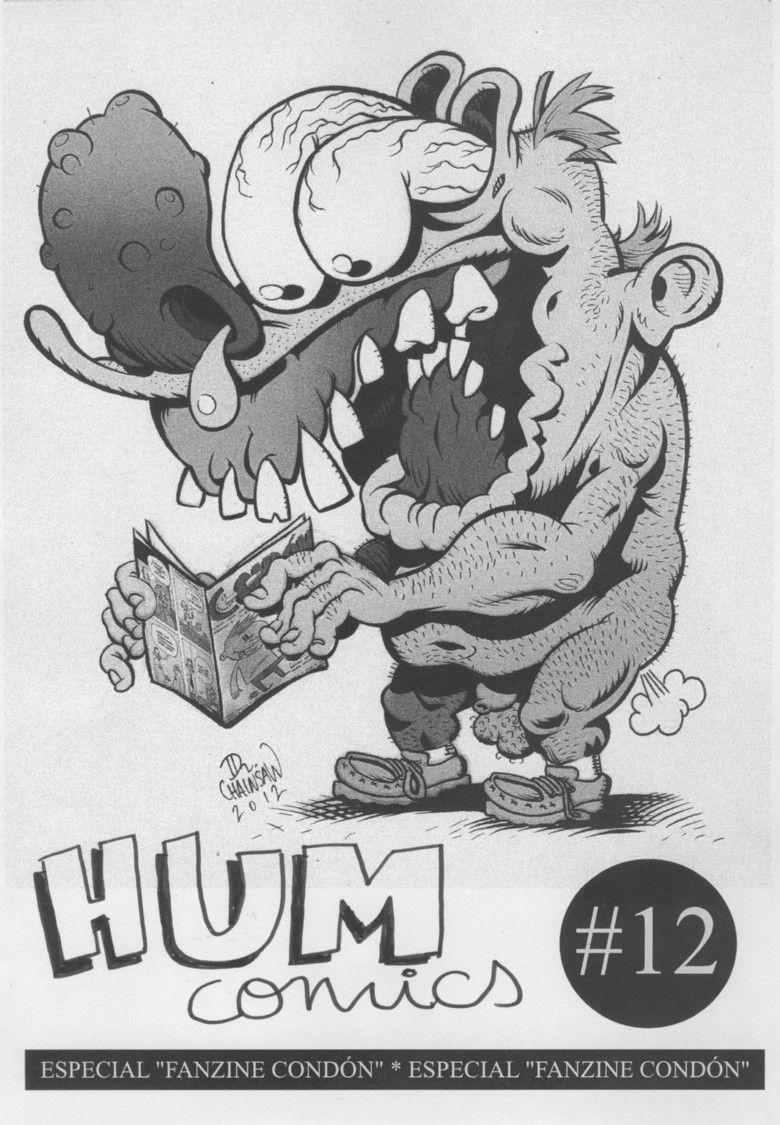 Hum Comics#12 Cover. Fanzine from the spanish cartoonist José Tomás.