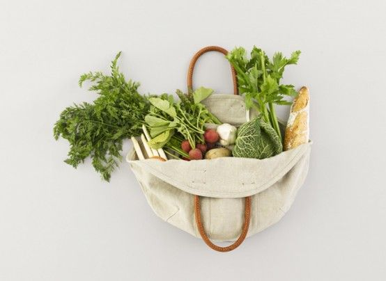 Theres a beautiful meal in this tote.