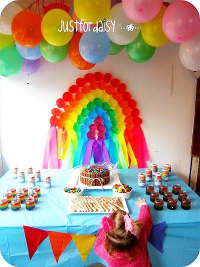 fun Rainbow Birthday Party Ideas