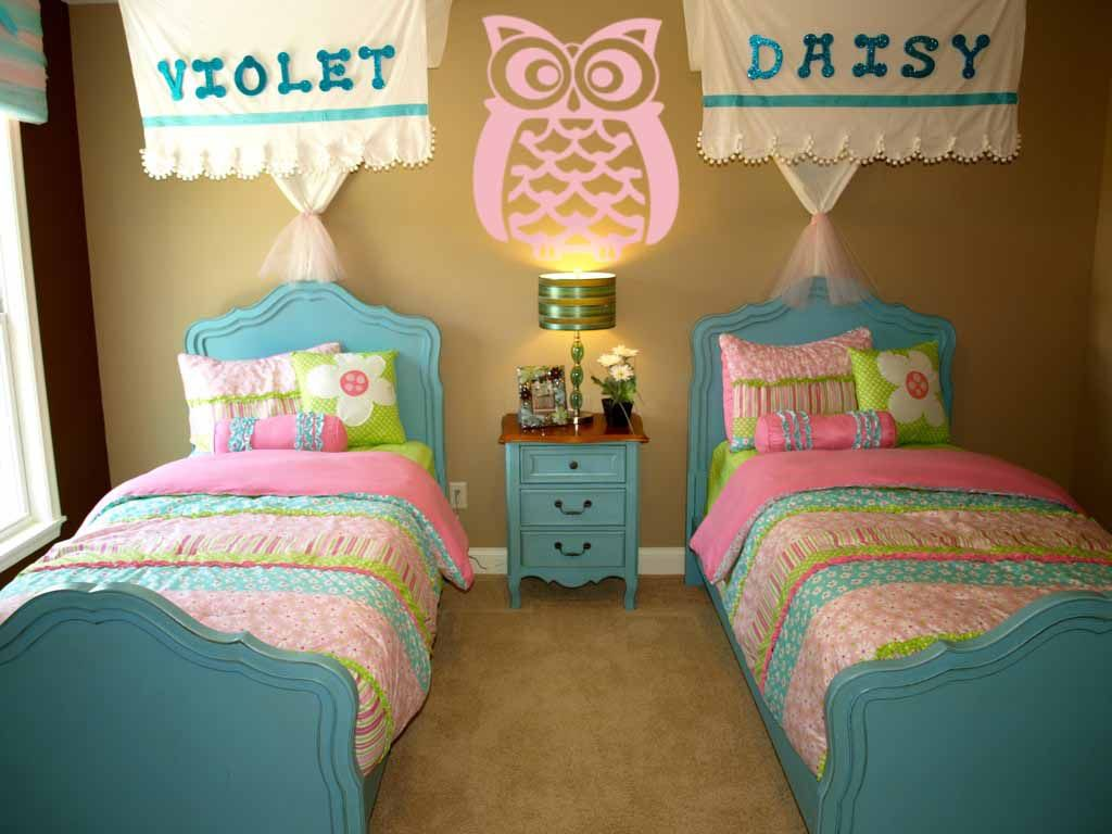 Best Crazy Owl Wall Decal Girl Room Owl Bedrooms Cute Bedding 640 x 480