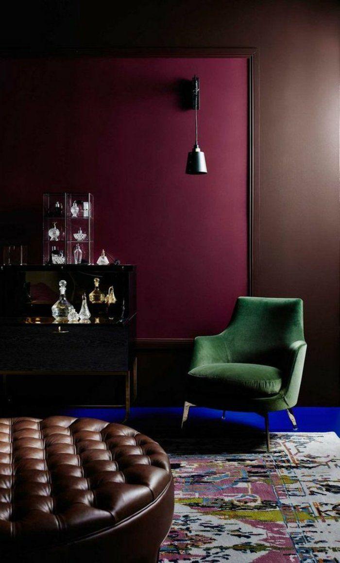 1001 id es pour votre peinture murale originale int rieur pinterest. Black Bedroom Furniture Sets. Home Design Ideas