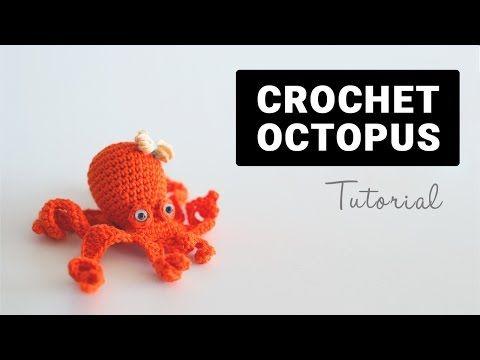 Como hacer un Pulpo a ganchillo o crochet en español - YouTube ...