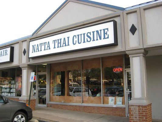 Natta Thai Restaurant Vienna Va Vienna Virginia Pinterest