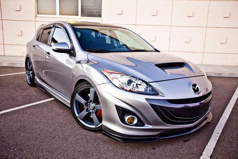 Mazdaspeed3 with H&R coilovers Mazda cars, Mazda 3