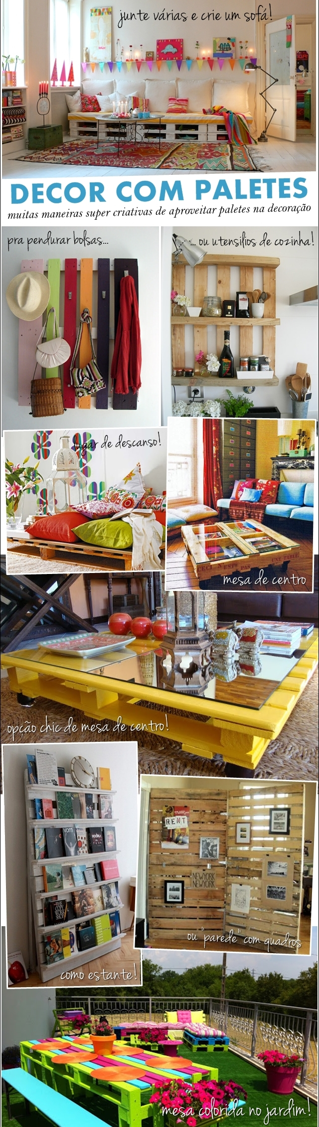 Mundo Lolita Decor Paletes Decor Pinterest Palets Reciclado  # Muebles Raros Del Mundo