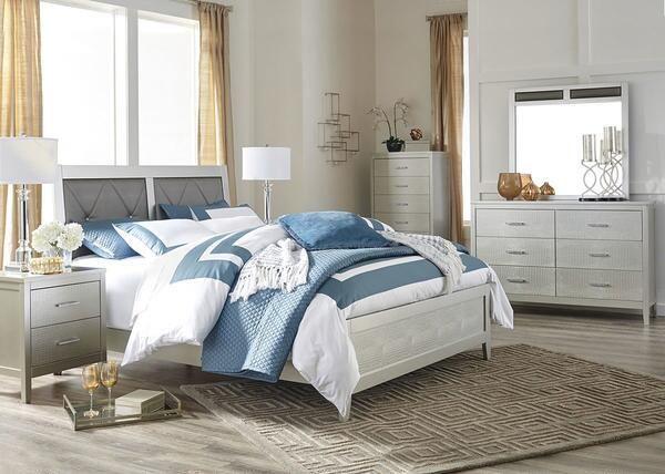 Beverly 7 Piece Queen Bedroom Was $1,22994 Sale $1,08850