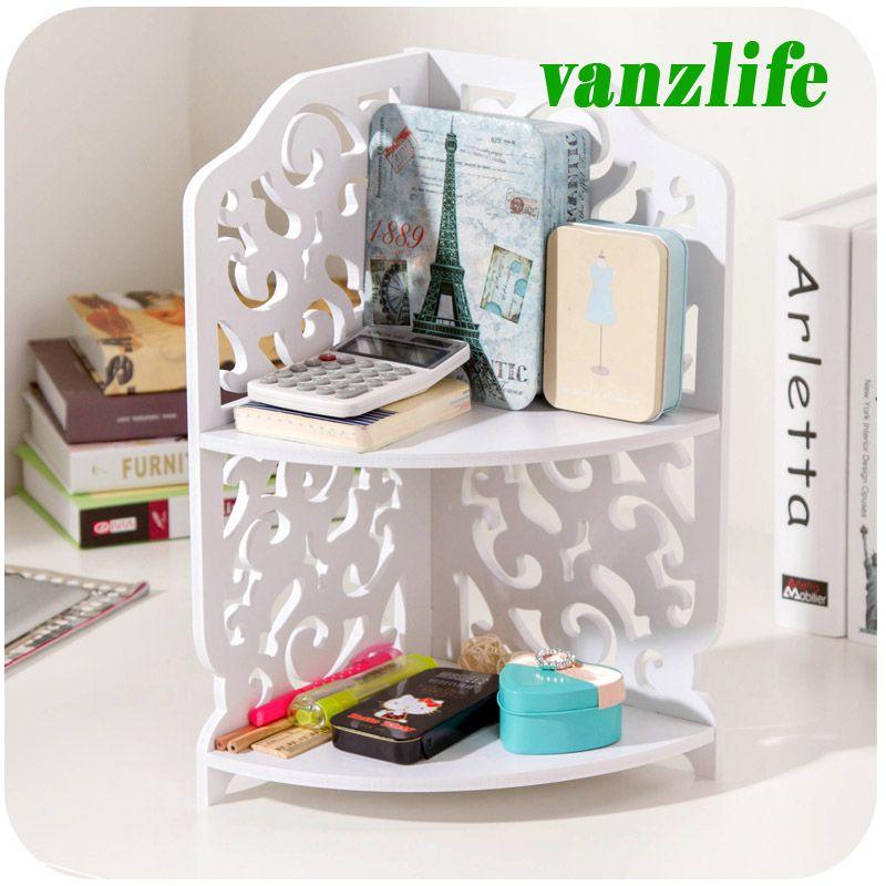 Sale vanzlife bathroom table top cosmetics storage rack kitchen