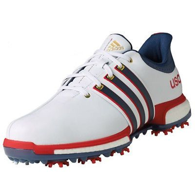 ba83be8c9facb9 Golf Shoes 181136  New Adidas Mens Tour 360 Boost Usa! Golf Shoes Red White  Blue - Choose Size! -  BUY IT NOW ONLY   104.95 on eBay!