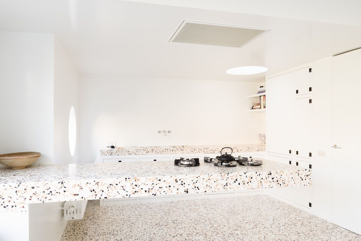 Terrazzo Plan De Travail Terrazzo Totale - Made Architects / Photo Olmo Peeters