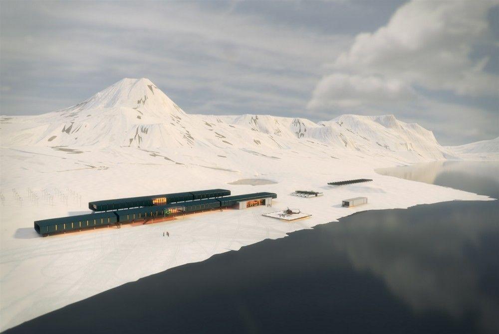 1º Lugar Concurso Internacional Estação Antártica Comandante Ferraz / Estúdio 41