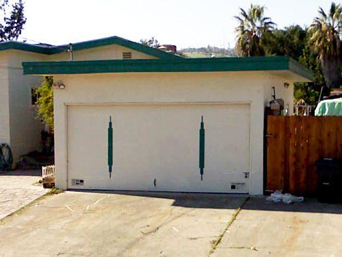 Mid Century Garage Door Garage Doors Mid Century House Mid Century