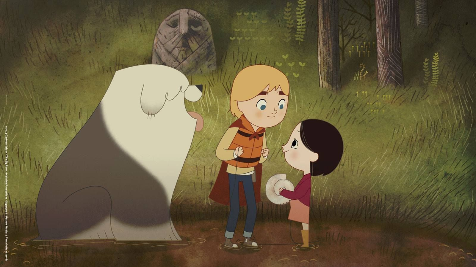 Song of the Sea Song of the sea, Animation, The secret