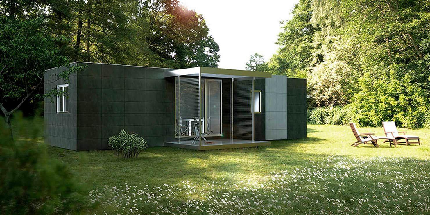 Von casas cube modern | Moderne fertighäuser, Günstiges haus ...