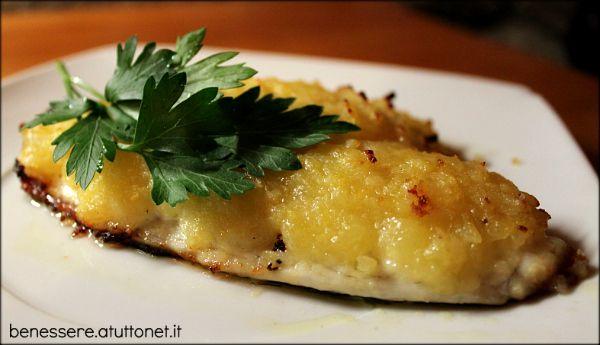 Ricetta Orata Sfilettata Al Forno Con Patate.Orata Sfilettata In Crosta Di Patate Ricetta Ricette Idee Alimentari Patate