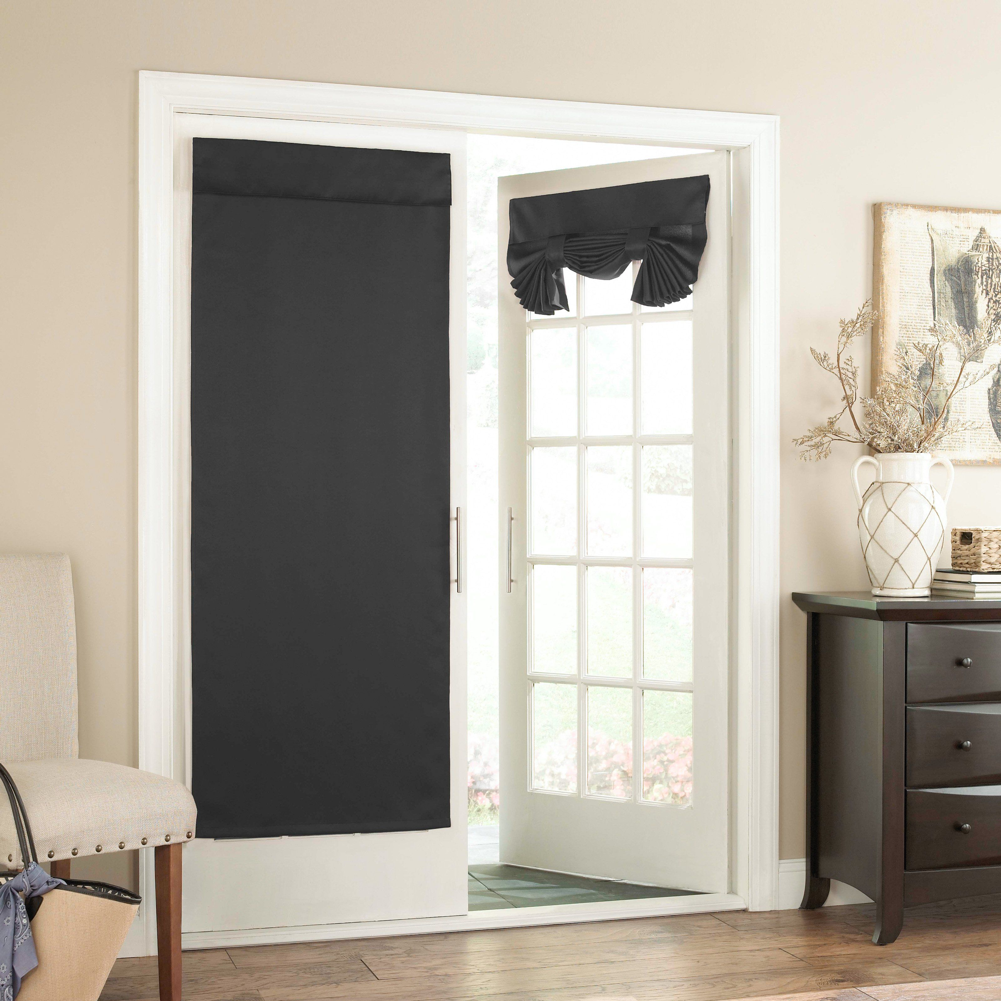Eclipse tricia window door curtain panel blk products