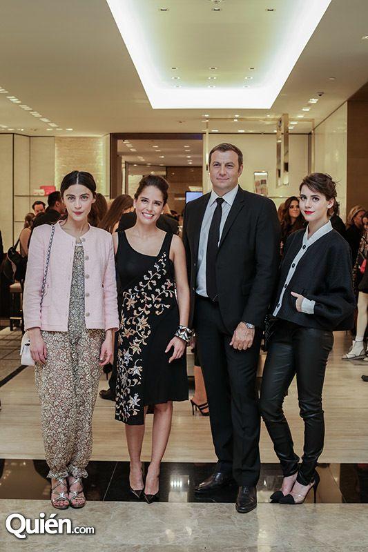 Grandes personalidades en la apertura de Chanel