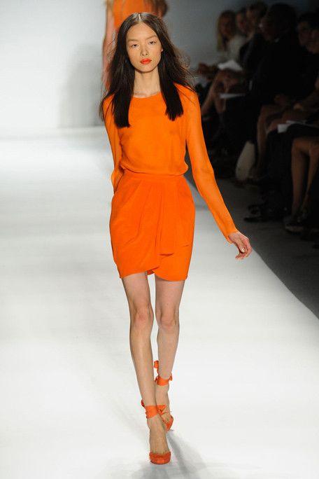 Simple.  And orange.  J Mendel Spring 2011