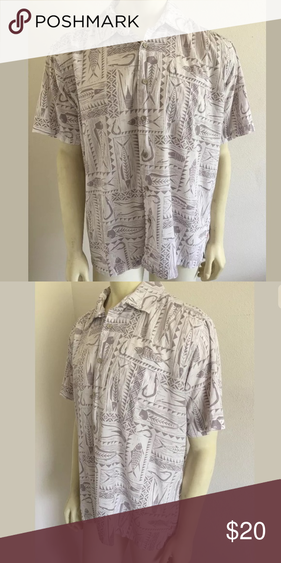 Quiksilver shirt SKU: SD14296  Length Shoulder To Hem: 28 Fabric Content: 60% Cotton 40% Polyester Chest: 52 Quiksilver Shirts Casual Button Down Shirts