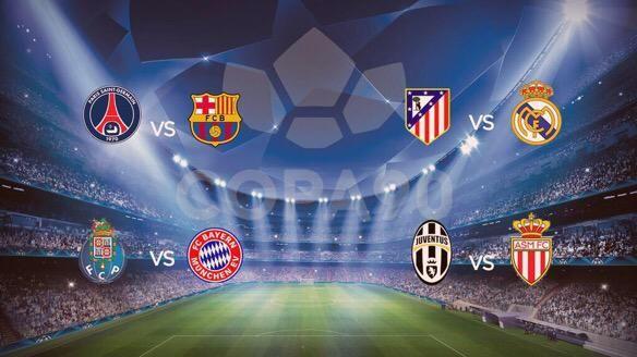 Transfersources Psg Vs Barcelona Atletico Vs Real Madrid Porto Vs Bayern Juventus Vs Monaco What I Live For Champagnegibby O Real Madrid Juventus Psg