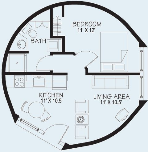 d3e9a22dd19bf5a61ae0c6a5fbf41f8b Radious Diamiter Yurt Home Plans on