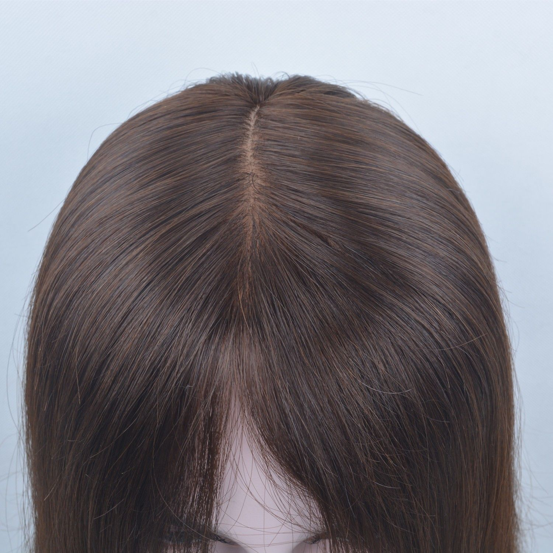 7d1d36461c3 New Sale 100% Virgin European Human Hair Wigs For White Women 16inch ...