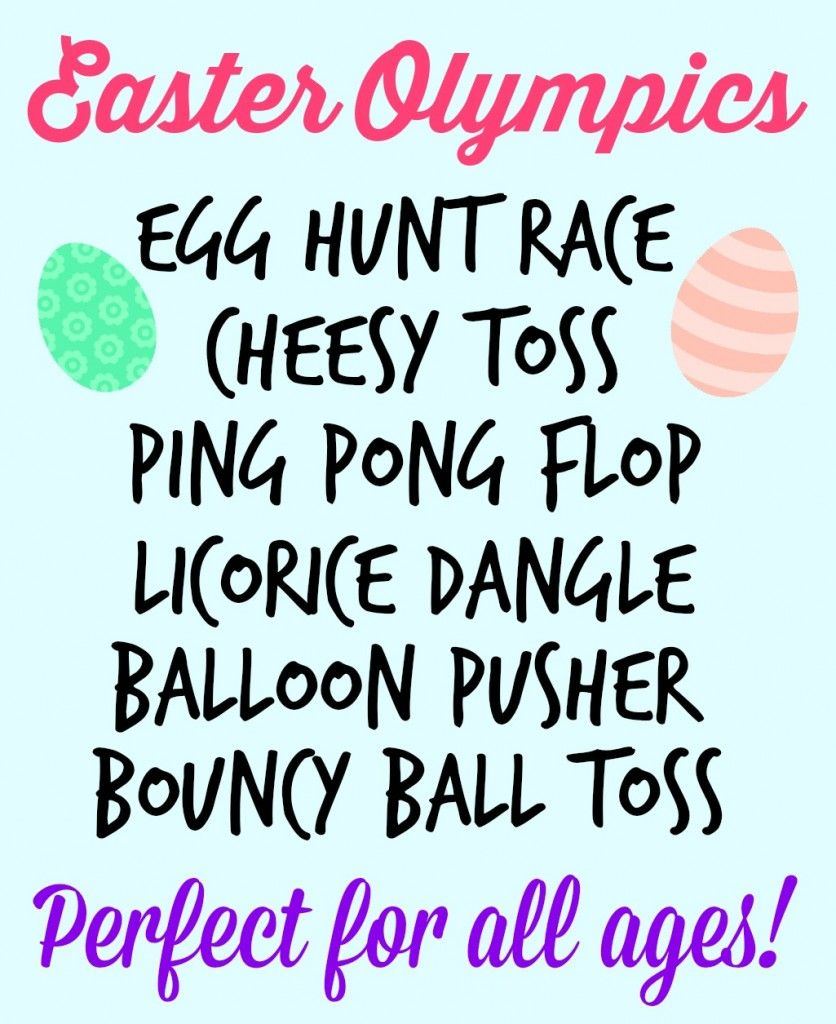 Fun Games to play over the Easter holiday
