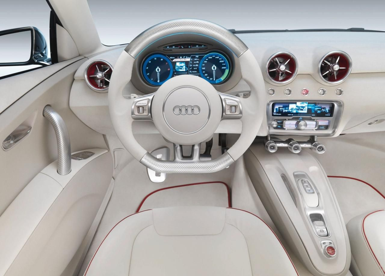 Audi A1 Sport Back With Cool White Interior App For Your Audi
