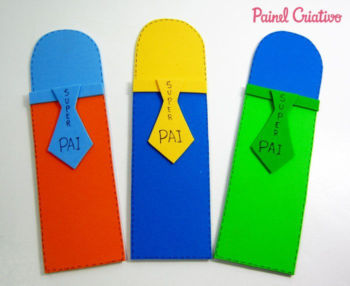 como fazer lembrancinha dia dos pais porta canetas eva escola (4)