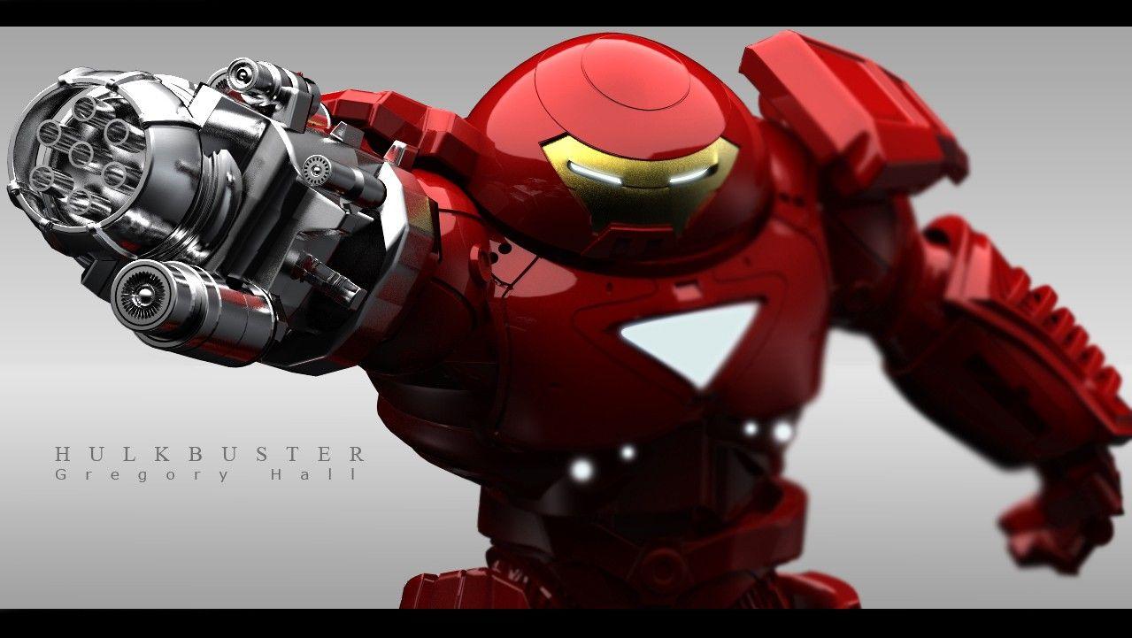 Hulk Buster Iron Man by Gregory Hall   Hulk Buster   Pinterest