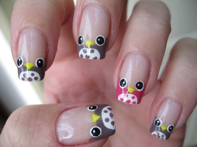Más de 40 fotos de uñas decoradas con Búhos | Decoración de Uñas ...