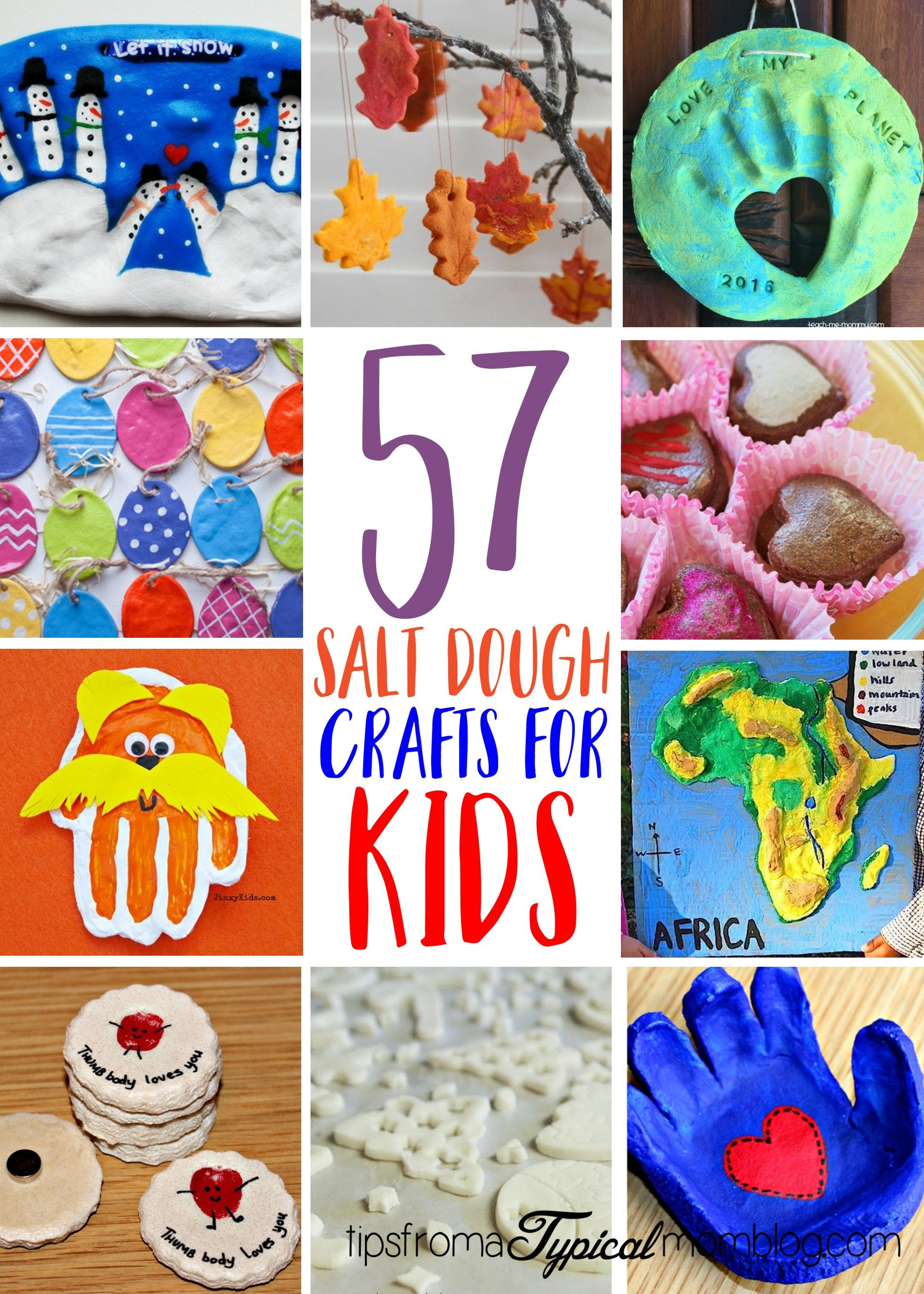 57 Fun Things to Make with Salt Dough for Kids - Tips from a Typical Mom