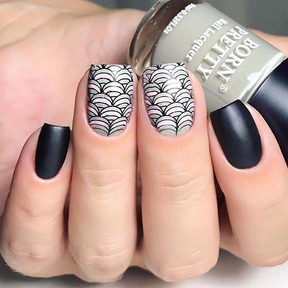 BORN PRETTY Grey Series Nail Polish Long-lasting Nail Lacquer ...