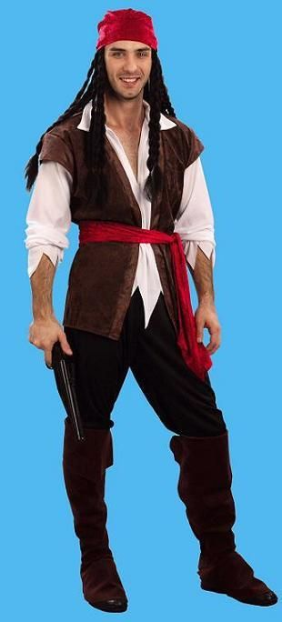 Mens Pirate Costume More