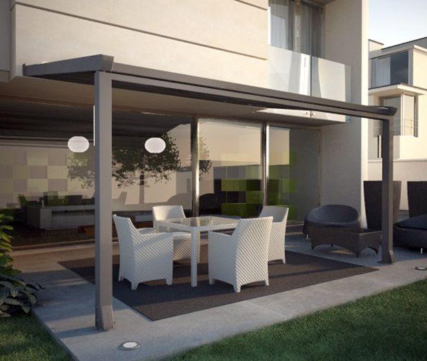Tolder pergolas y toldos pinterest terrazas chalets - Como hacer un toldo para pergola ...