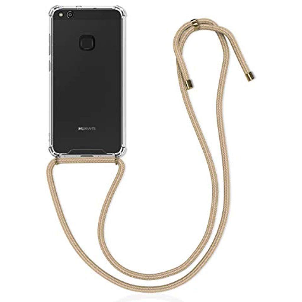 Kwmobile Huawei P10 Lite Hulle Mit Kordel Zum Umhangen Silikon Handy Schutzhulle Gold Elektronik Foto Hifi Audio R Handy Schutzhulle Schutzhulle Handy