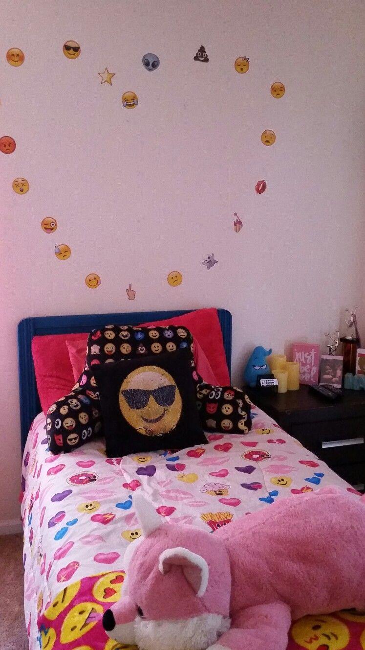 Pin by Kelly Moye on emoji bedroom in 2019 Emoji bedroom