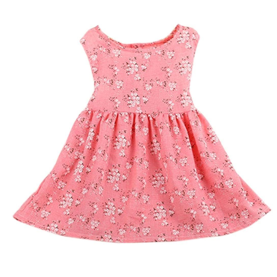 Gotd Summer Kids Baby Girls Floral Sleeveless Princess Dress Vest Clothes 3t Pink Read More Reviews Of The Kids Summer Dresses Girls Dresses Summer Clothes [ 1088 x 1088 Pixel ]