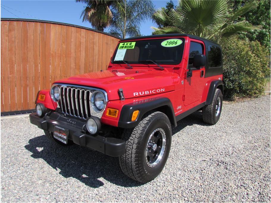 Sold 2006 Jeep Wrangler Rubicon Sport Utility 2d 2006