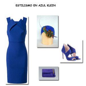 Estilismo en azul Klein