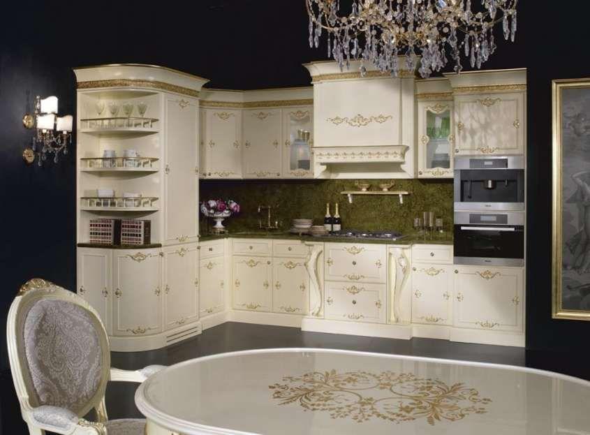 Cucina e soggiorno open space - Modello classico a vista | Pinterest