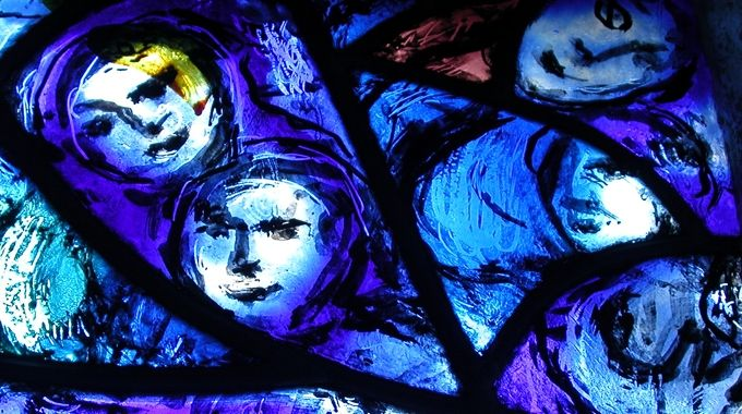 Pocantico Church - The Chagall and Matisse Windows - Westchester, NY