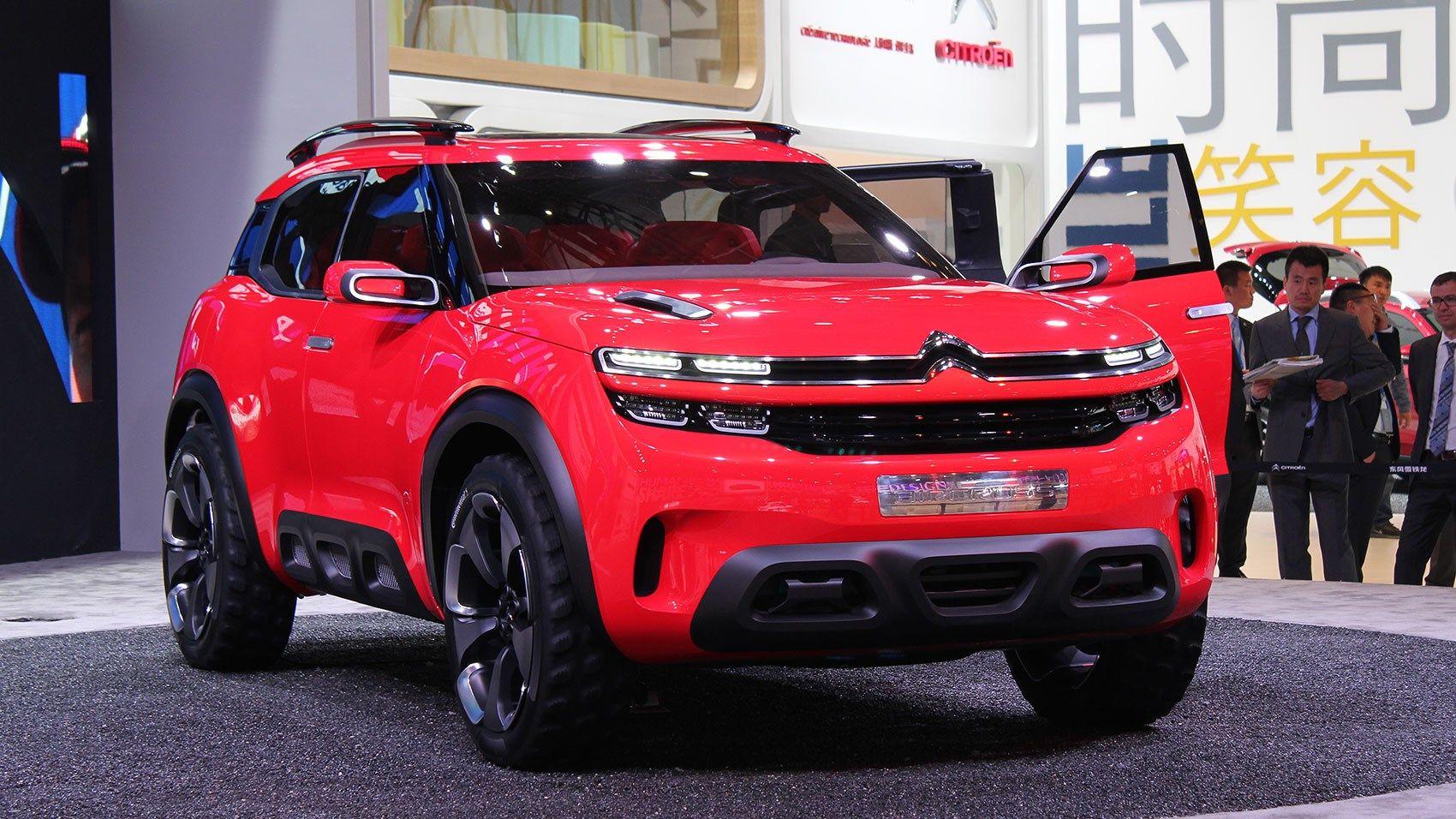 2015 Citroen Aircross Concept Car Exterior Motor Car